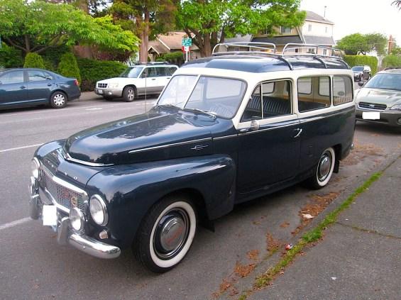 1958 Volvo 444 Duett