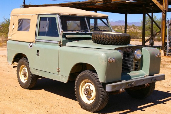 Secret Service Land Rover Series A MintMe - Land rover austin service