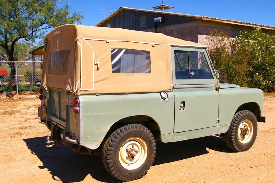 1964 Land Rover Series 2A