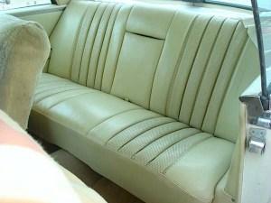 1966 MB 250SE re seat