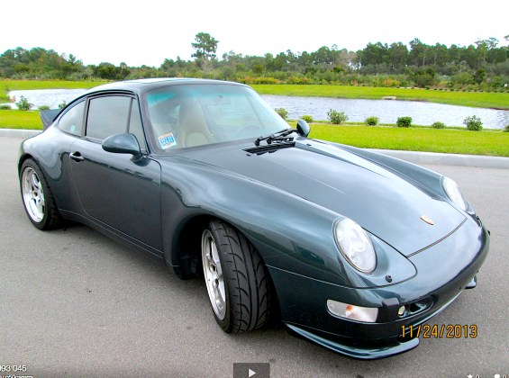 95 Porsche 993