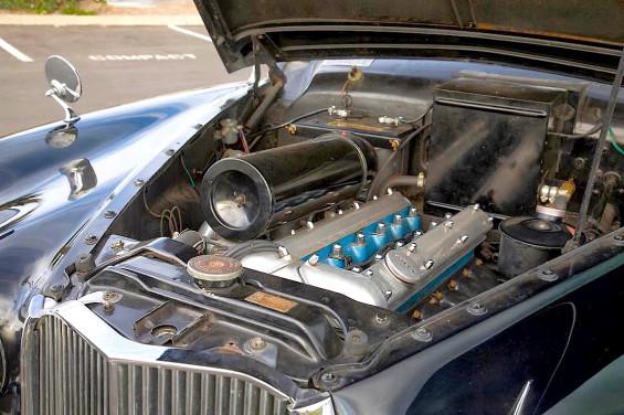 1960 Jaguar MKIX eng