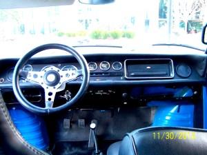 1965 Renault Gordini dash