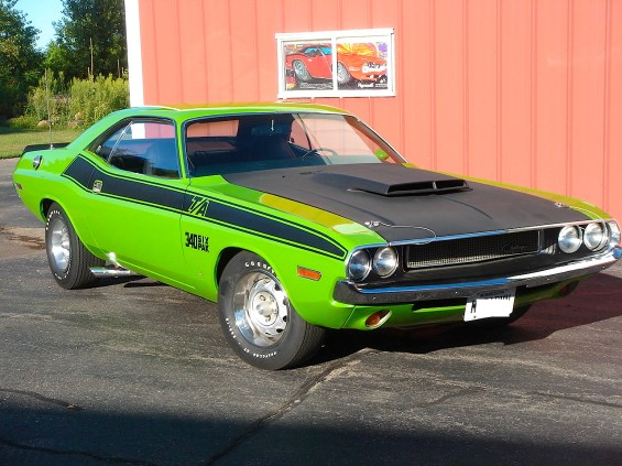 1970 Dodge Challenger 340 6 Pack T:A