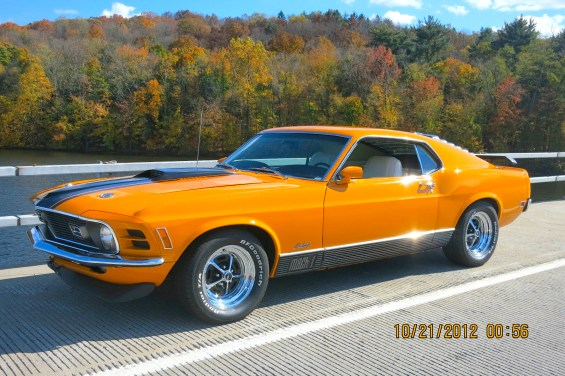 1970 Ford Mustang Mach