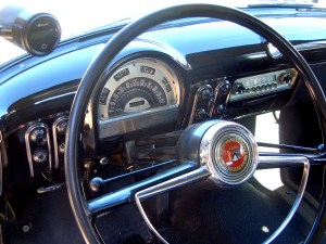 53 Ford Sedan Delivery dash
