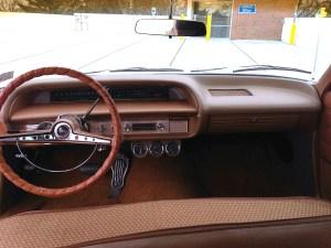 63 Chevy Impala 409 Wagon int