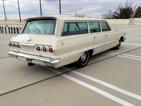 63 Chevy Impala 409 Wagon re