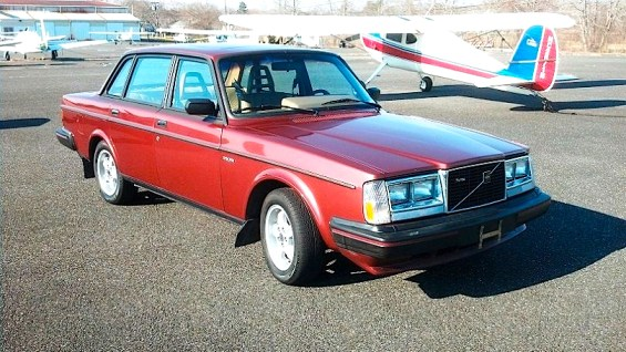 83 Volvo Turbo fr