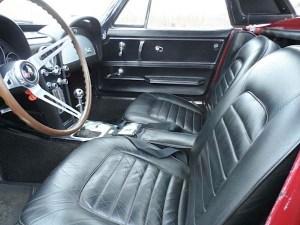 66 Chevy Corvette int