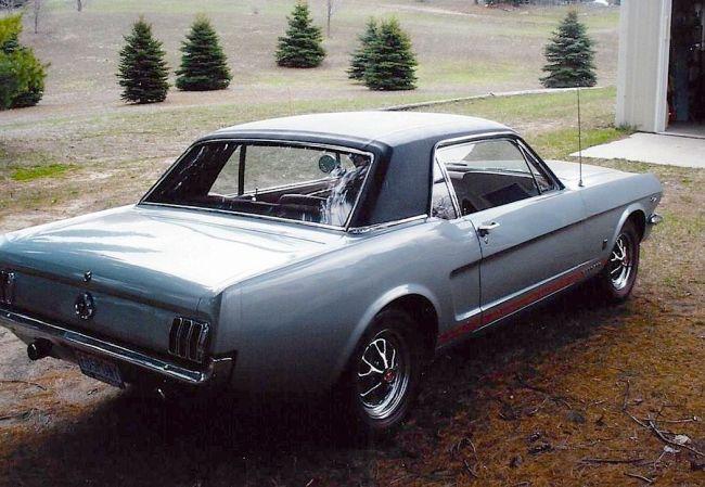 65 Mustang re