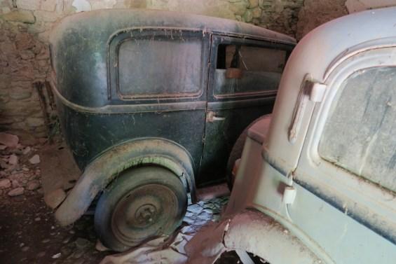Fiat Balilla 2 -Porte and a Fiat 1100 A