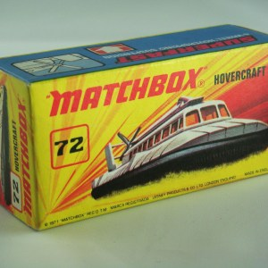 Matchbox Superfast No.72B SRN6 Hovercraft