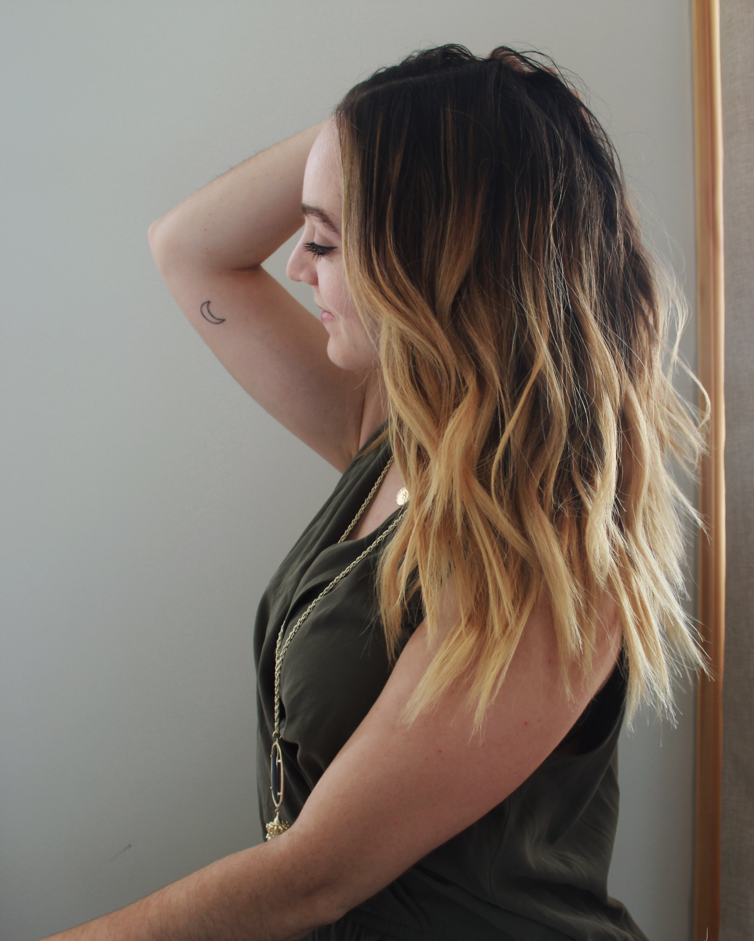 Back To School Hair Tutorial 10 Minute Messy Waves With Herstyler