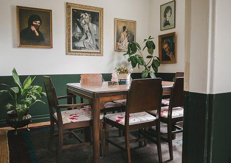 Casa de Jantar antásticas a duas cores