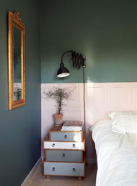 paredes fantásticas a duas cores