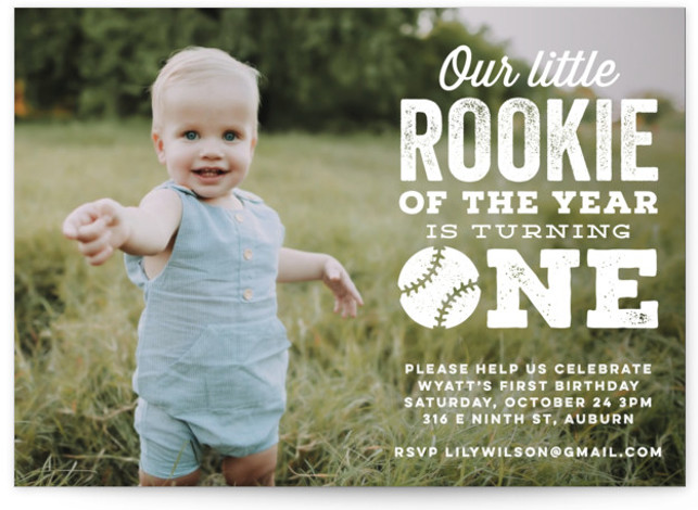 sports birthday party invitations and