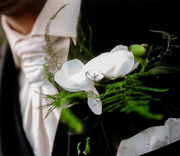 Mint en Mimosa trouwwerk