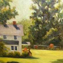 Morning Glow, Plein Air, oil