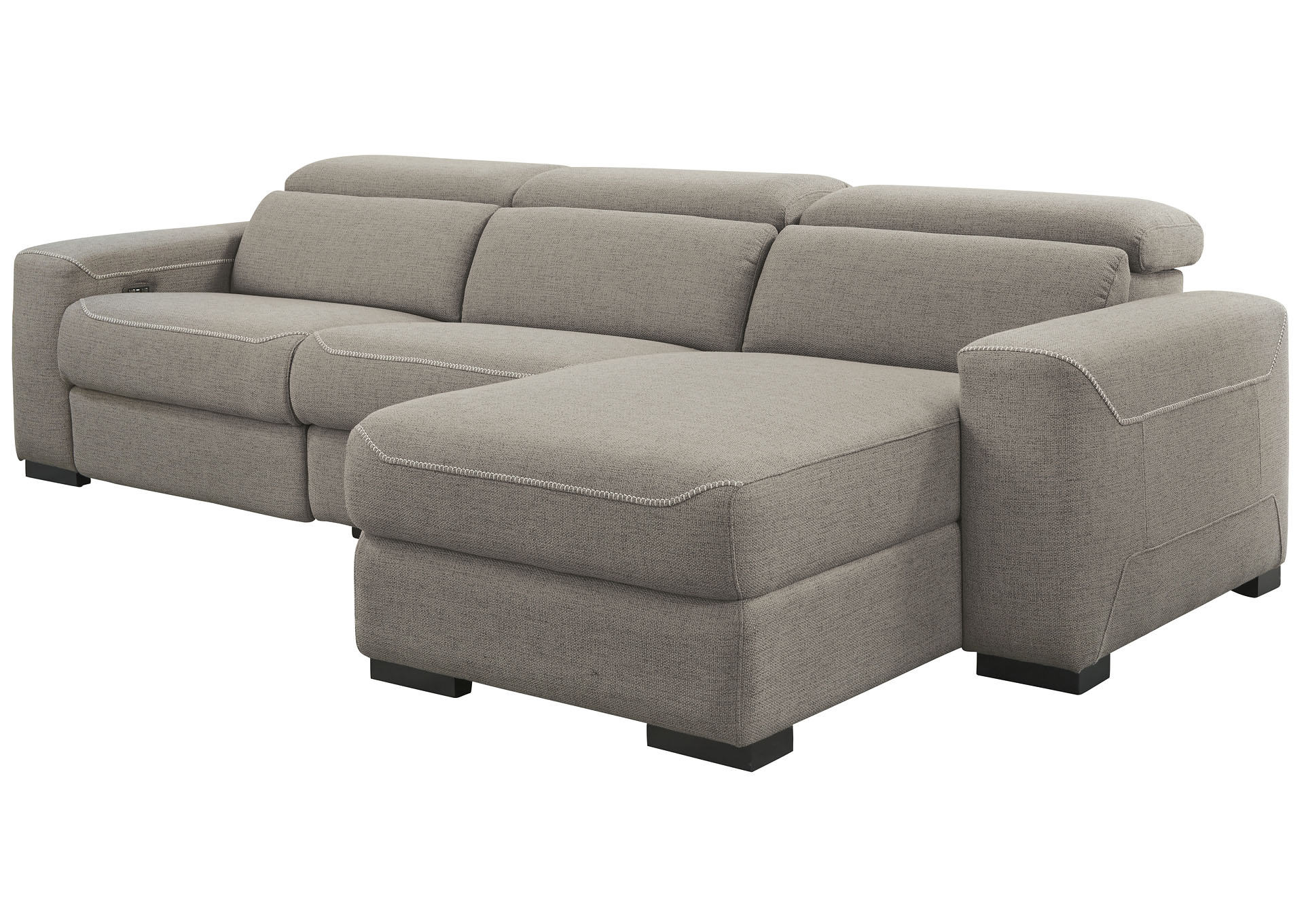 https store ashley sa category living room mabton right arm facing power reclining 3 piece sectional chaise532 html