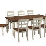 Marsilona Rectangular Dining Table W 8 Chairs Ashley Furniture Homestore Independently Owned And Operated By Best Furn Appliances I