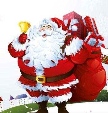 Santa comes to town in Hong Kong