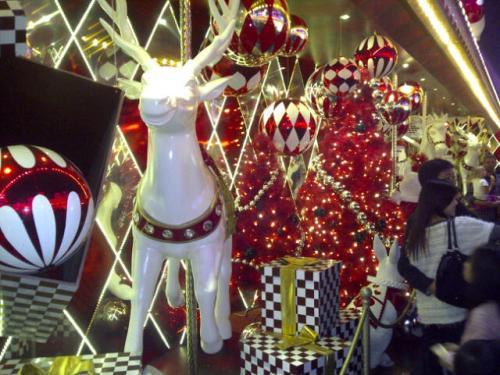 Hong Kong display at Christmas