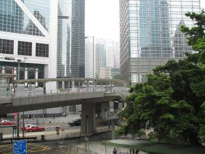 Hong Kong walkways