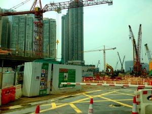 Kowloon Cranes