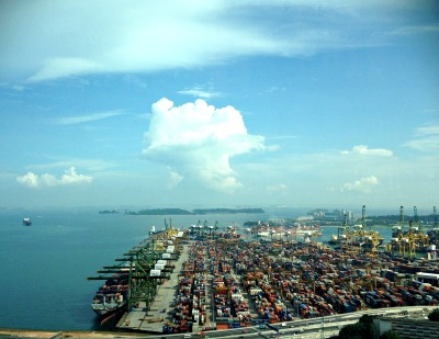 Singapore Port | Mint Mocha Musings