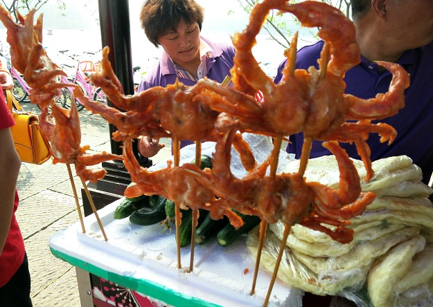 China: Hungry anyone? Hangzhou street food