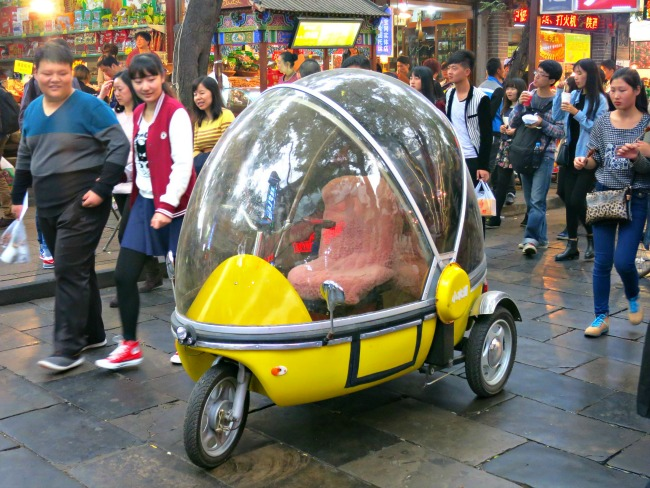 Day 46: China... Forget the Tuk Tuk, may be better investing in one of these!