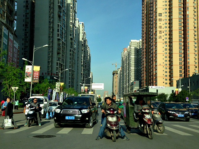 China: Someone has turned the high definition vision on in Xi'an today. #CrystalClear #Nopollution #China