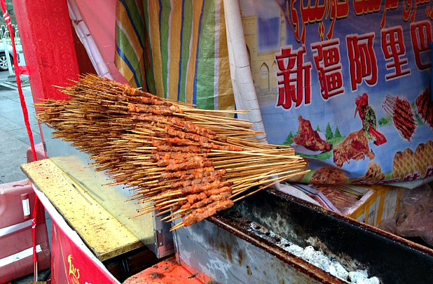 China: Skewer anyone? #Streetfood #Xianlife