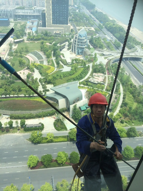 China window cleaning