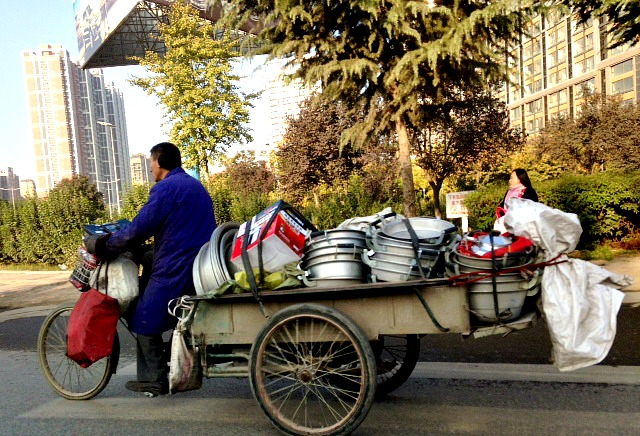 Driving in Xi'an