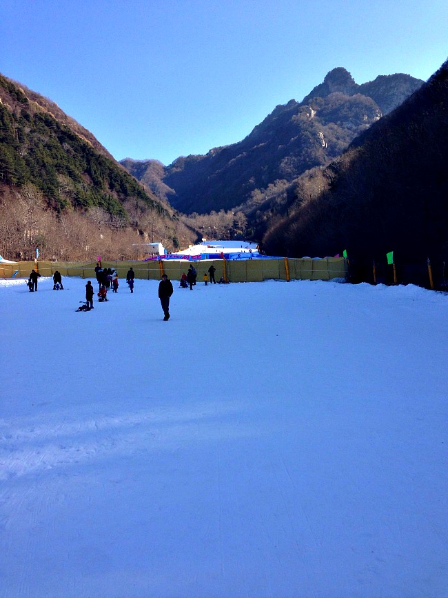 China: Proof you can find snow in North West China. #XianScenes