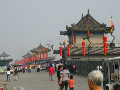 City Wall Xi'an | Mint Mcoha Musings