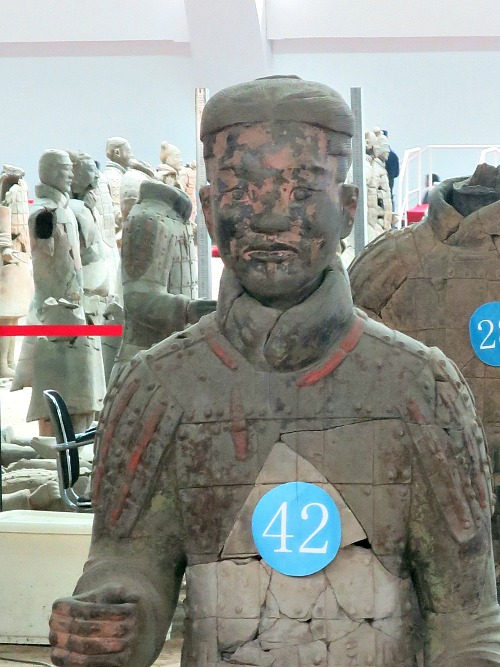 Painted Terracotta Warrior