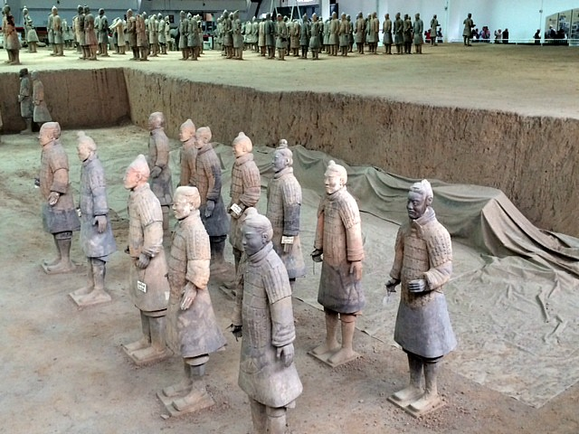 Terracotta Warriors R  mint Mocha Musings