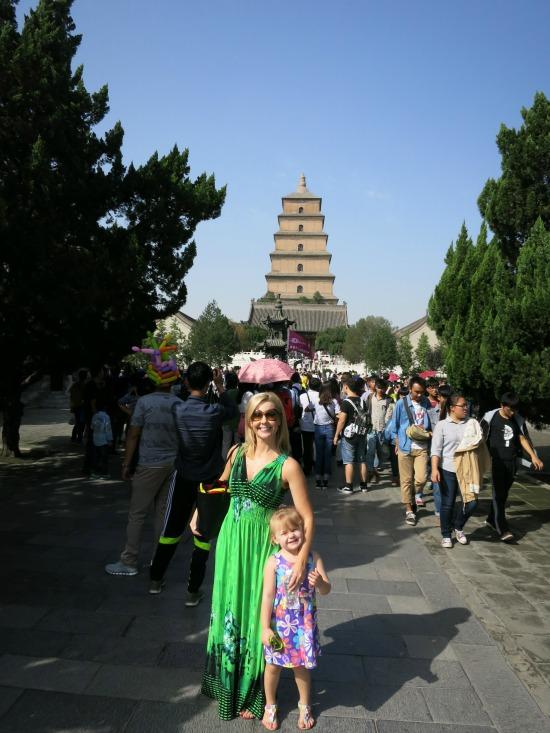 Big Wild Goose Pagoda | Mint Mocha Musings