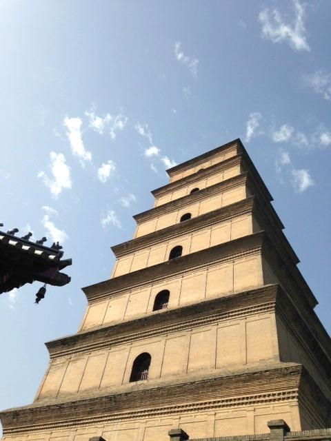 Big Wild Goose Pagoda Xi'an | Mint Mocha  Musings