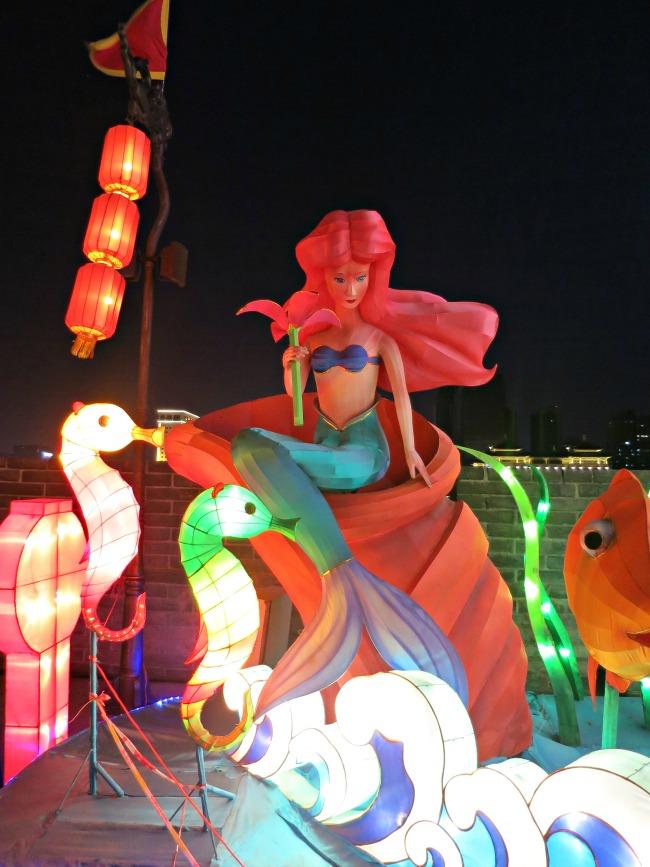 CNY Lanterns Ariel