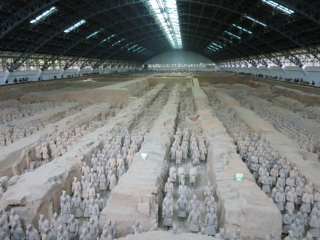 Visiting the Clay Army in China | Mint Mocha Musings