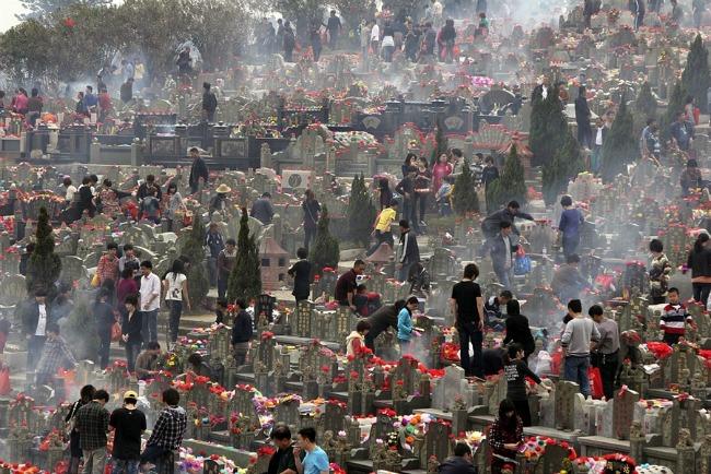 Tomb Sweeping Day  QingMing China