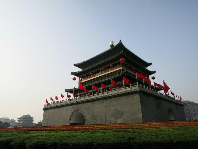 Bell Tower in Xi'an   Mint Mocha Musings