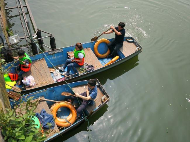 Visiting China | Boating on West Lake