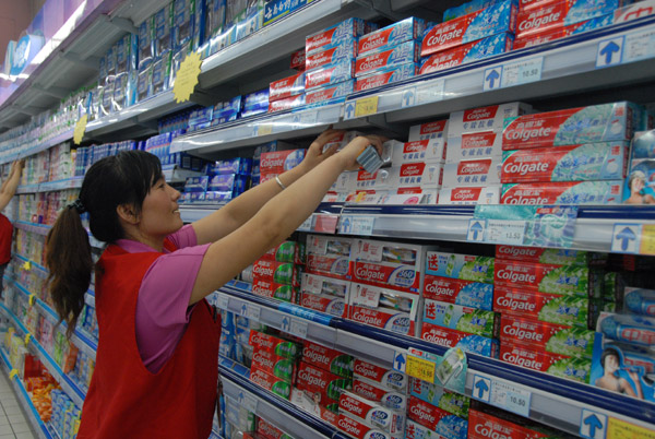 toothpaste in china