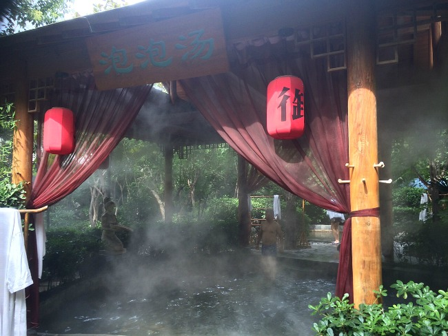 Hot Springs Xi'an China