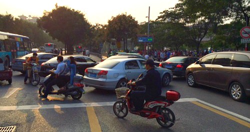 School Run This is china - Cars